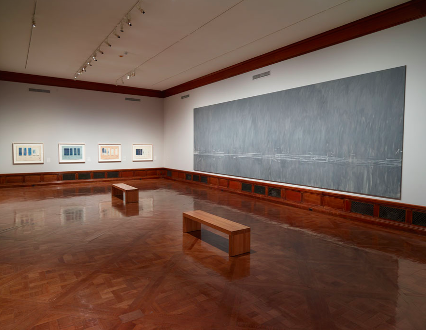 """""""Cy Twombly: Treatise on the Veil,"""" an exhibition on view at the Morgan Library & Museum through January 25, 2015. Photography by Graham S. Haber, 2014. © Cy Twombly Foundation."""