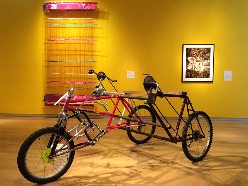 Installation view of New Territories: Laboratories for Design, Craft and Art in Latin America, Museum of Arts and Design.