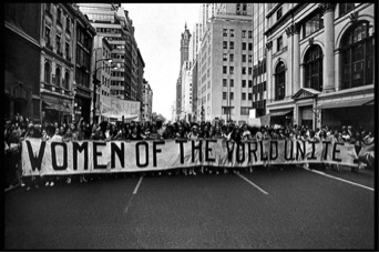 Women's Strike for Equality, 1970. Courtesy Bryn Mawr.