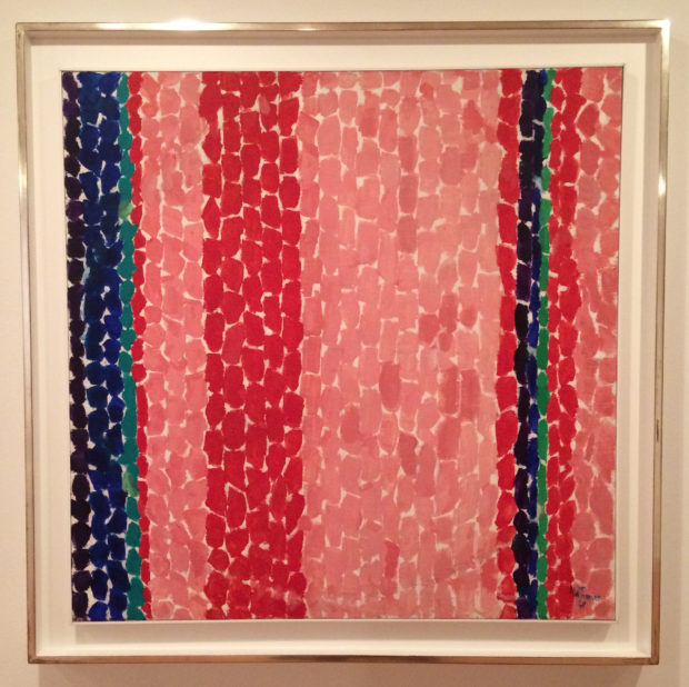 Alma Thomas, A Glimpse of Mars, 1969, acrylic on canvas.