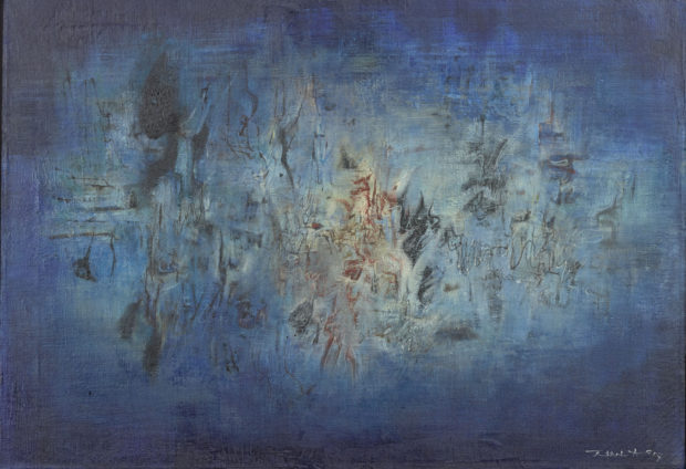 Water Music 1957 Oil on canvas 20 × 28 in. (50.8 × 71.1 cm) Chao 2000 Trust Photography by Michelle Geoga, 2012