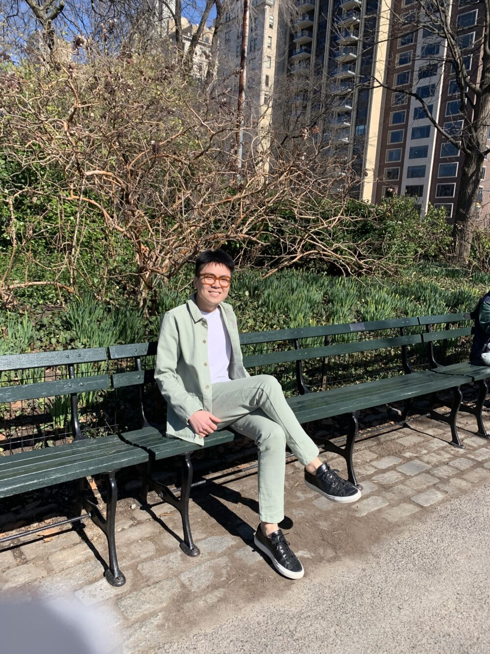 Portrait of Eric Goh