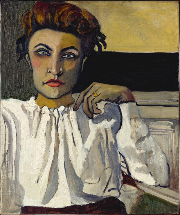 nka, 1936, oil on canvas, 24 × 20 in. (61 × 50.8 cm). The Metropolitan Museum of Art, New York, Gift of Richard Neel and Hartley S. Neel, 1987 © The Estate of Alice Neel.