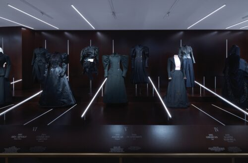 About Time: Fashion and Duration Installation View, Clock One