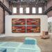 """""""Tishan Hsu: Liquid Circuit,"""" installation view, SculptureCenter, New York, 2020. Photo: Kyle Knodell"""